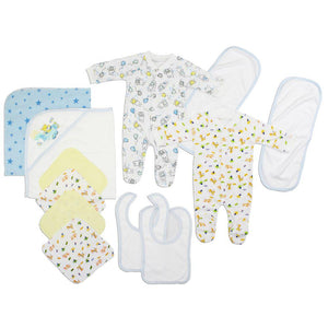 Newborn Baby Boys 16 Pc Layette Baby Shower Gift Set