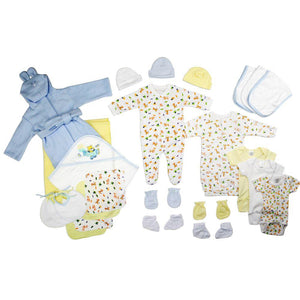 Newborn Baby Boys 25 Pc Layette Baby Shower Gift Set