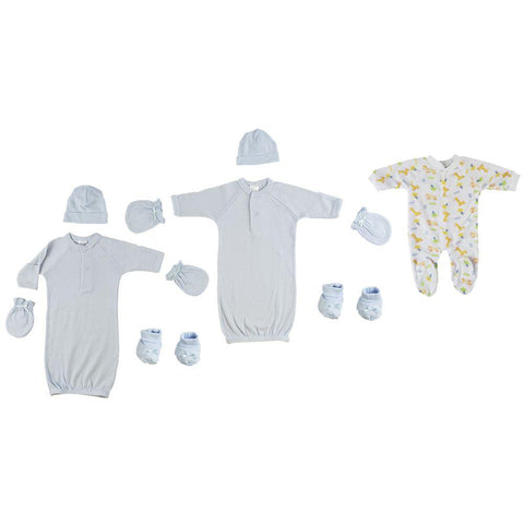 Preemie Sleep-n-Play, Gowns, Caps, Booties and Mittens