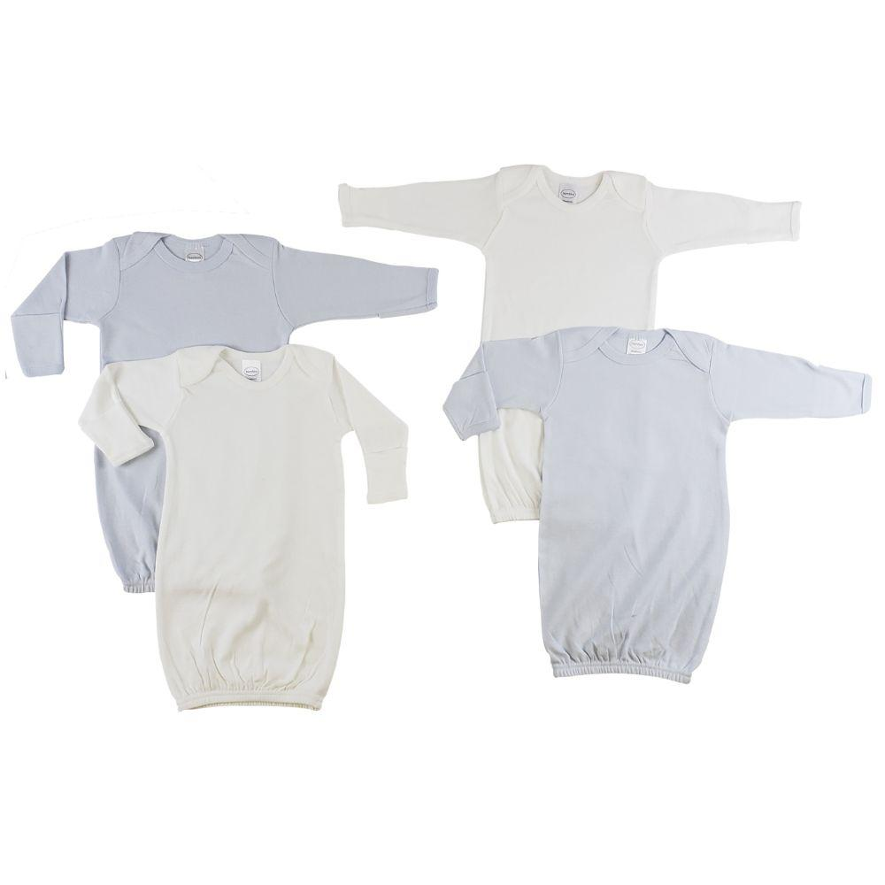 Infant Gowns - 4 Pack Newborn