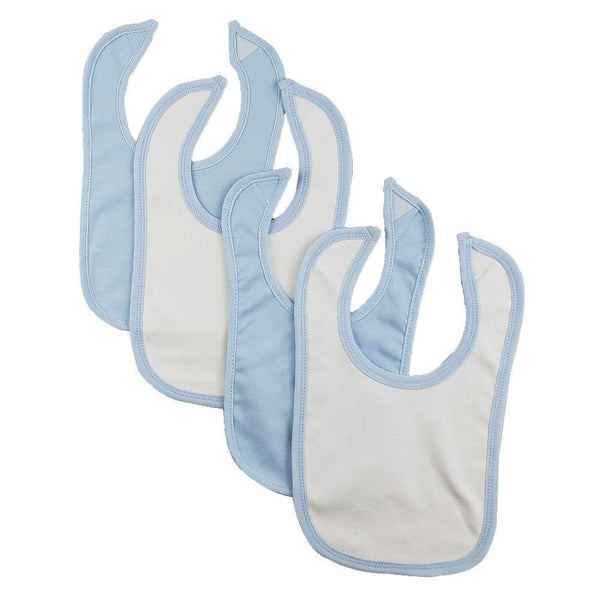 Baby Bibs One Size - 4-10 Packs