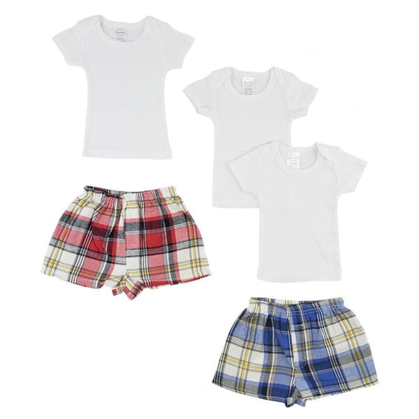 Infant T-Shirts and Boxer Shorts