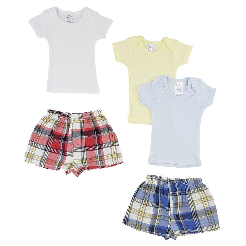 Infant Boys T-Shirts and Boxer Shorts