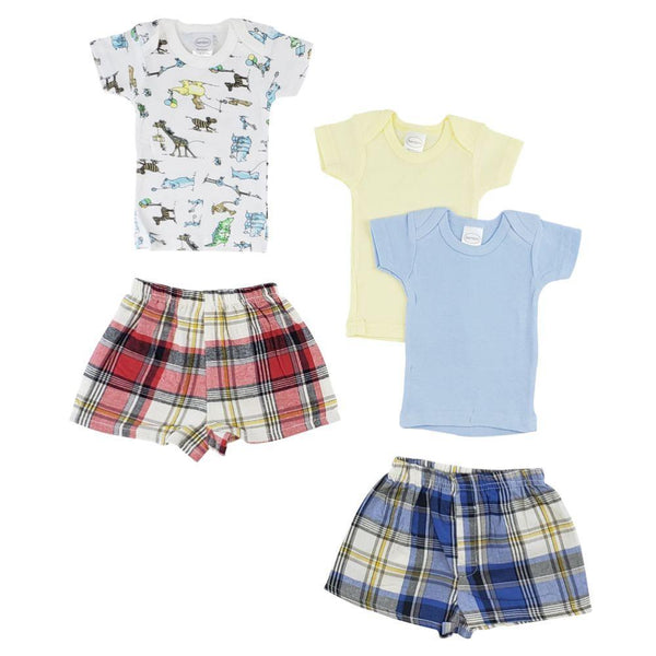 Infant Girls T-Shirts and Boxer Short