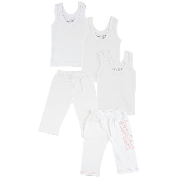 Infant Tank Tops and Track Sweatpants