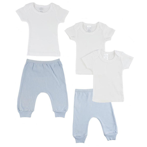 Infant T-Shirts and Joggers - Blue