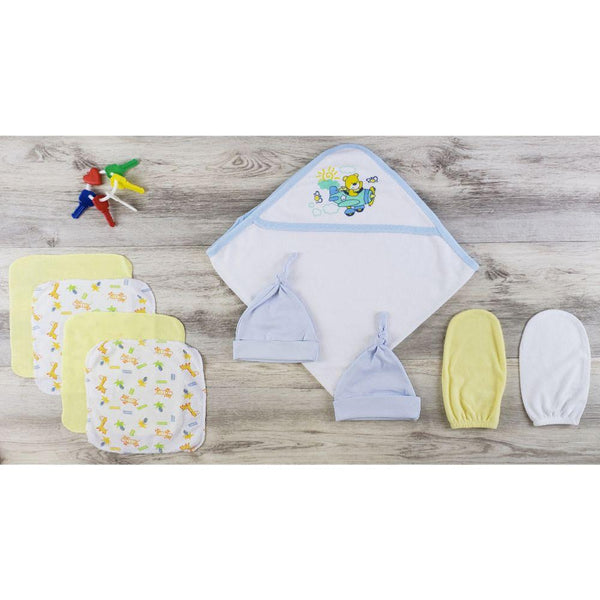 Hooded Towel, Hats and Wash Cloths