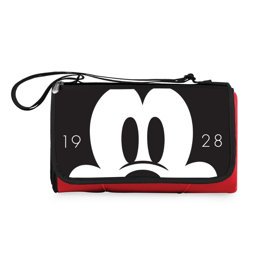 Mickey Mouse - 'Blanket Tote' Outdoor Picnic Blanket (Red)