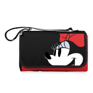 Minnie Mouse - 'Blanket Tote' Outdoor Picnic Blanket (Red)