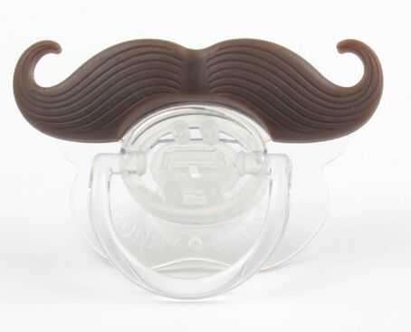 Mustache Silicone Baby Nipple Pacifier