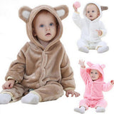 Newborn Baby Cartoon Animal Rompers shaped Jumpsuit