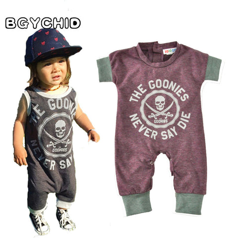 'Goonies never say die' Baby Romper Onesie for boys and girls