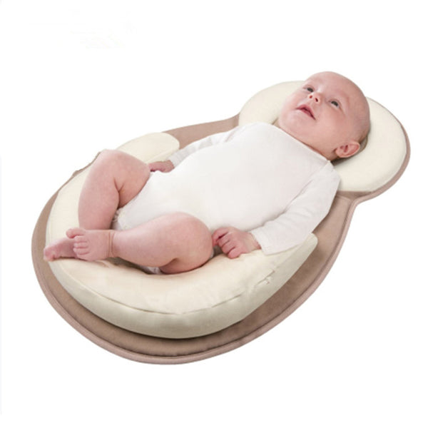 Cotton Portable & Adjustable Folding Baby Crib