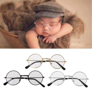 Newborn Prop Glasses for Photography Costume Shoot