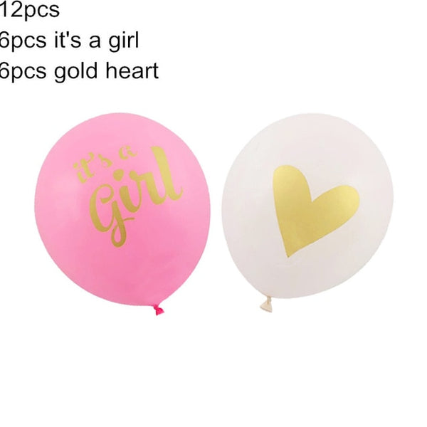 Baby Shower 16 inch 34cm Foil Balloons Its a Boy Girl Baby Shower Decorations