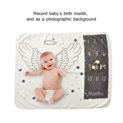 Photo Background Monthly Growth Number Photography Props