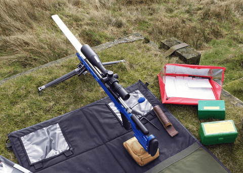 Top shot Carbon F Class competition on Rifle