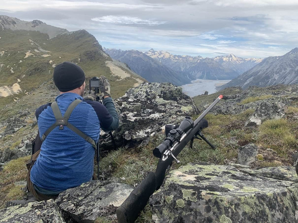 tier one tactical bipod on tahr