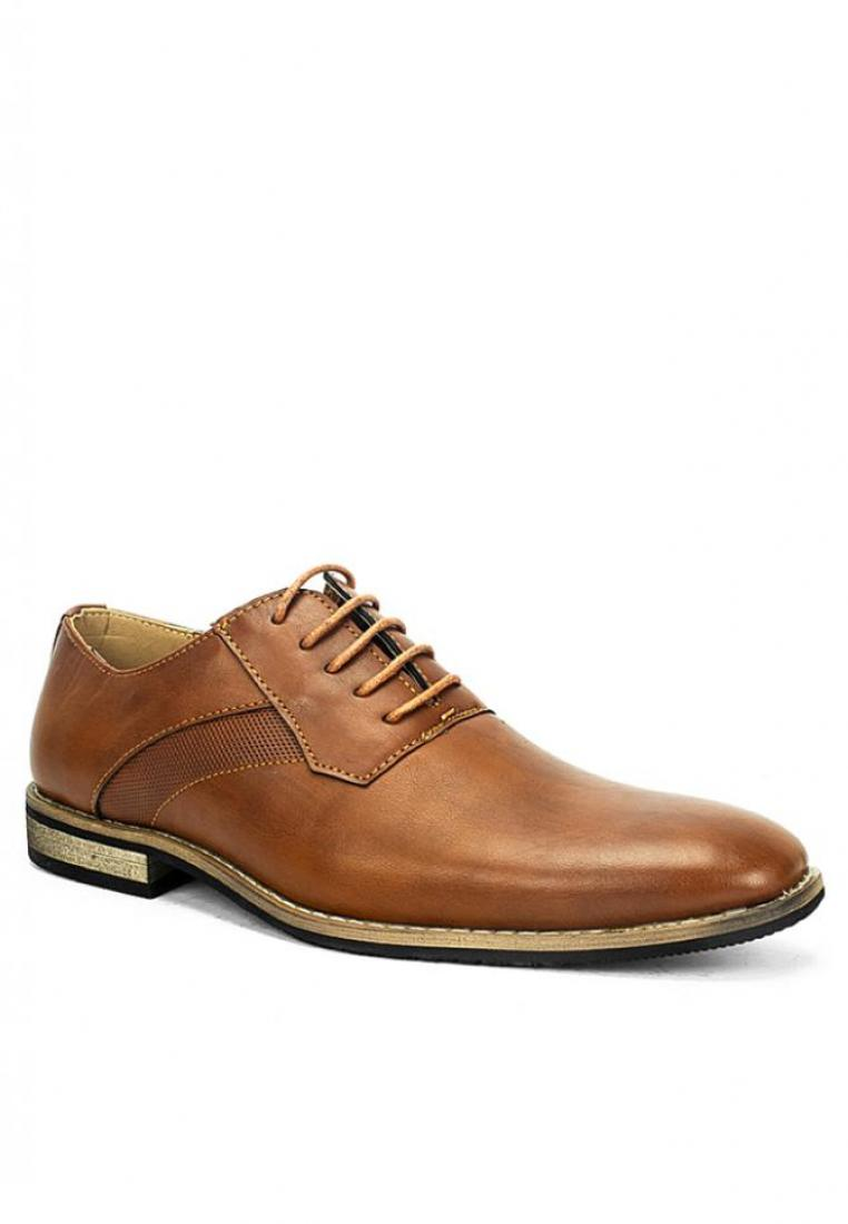 MS 42091 Brown Formal Shoes