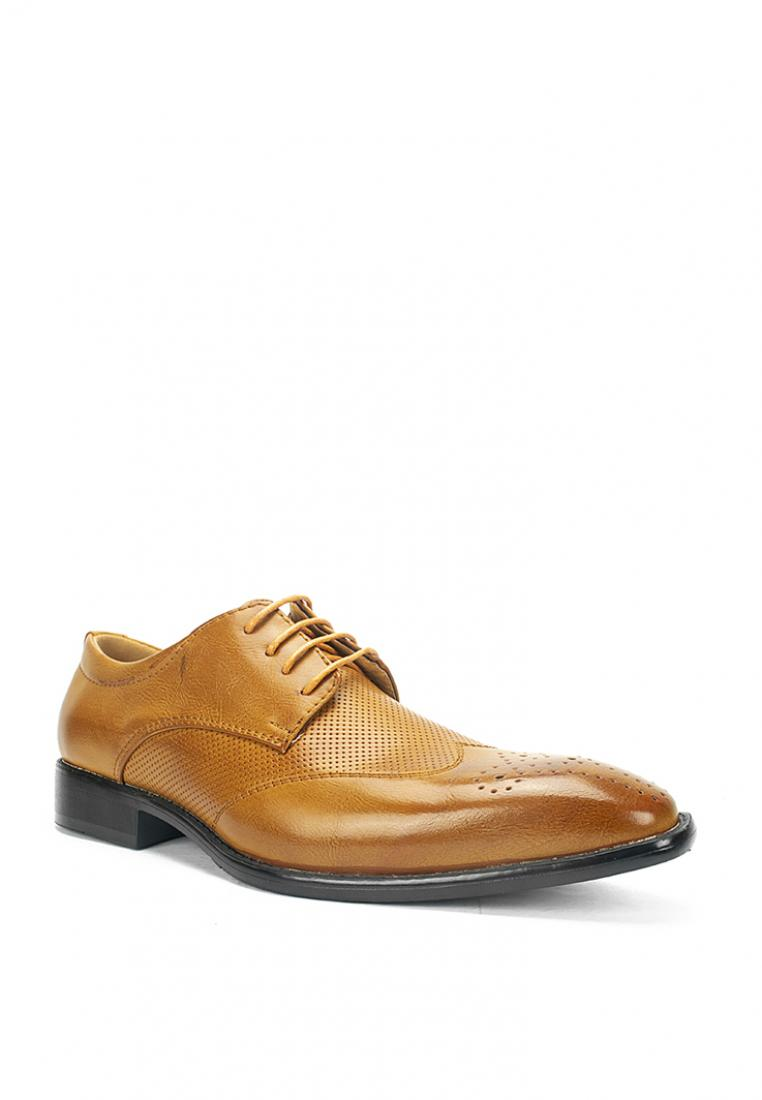 MS 41100-Tan Formal Shoes