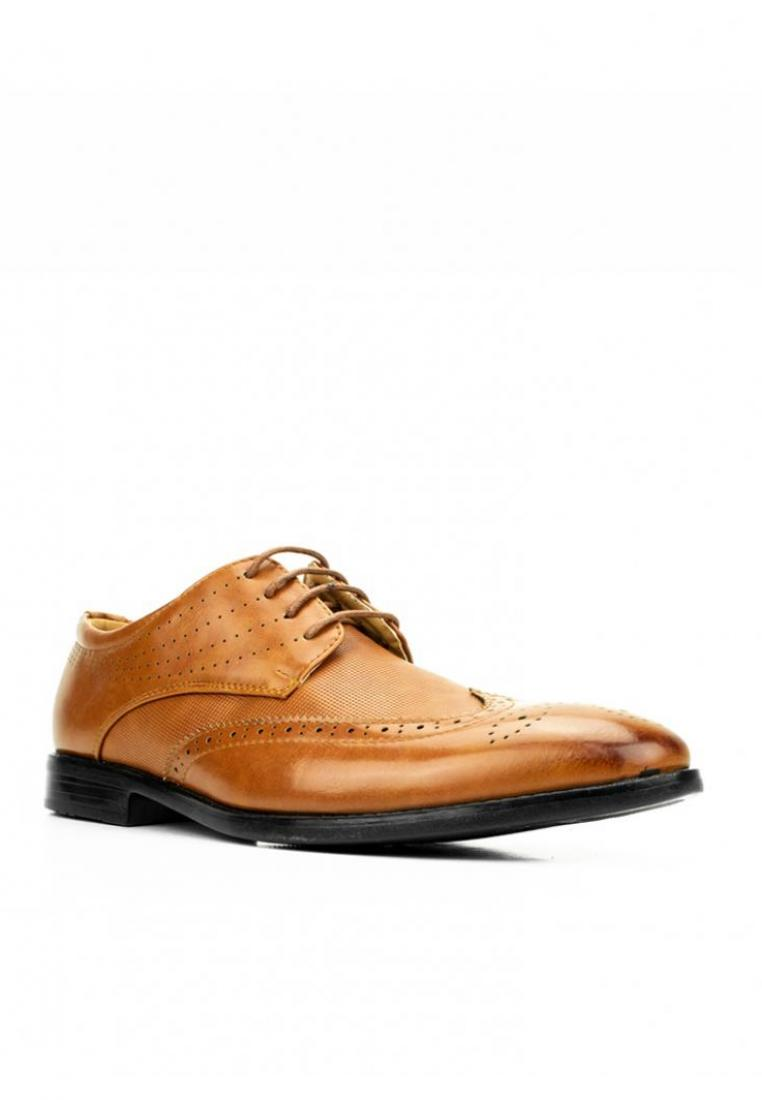 MS 43969 Brown Formal Shoes