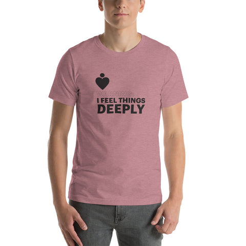 "EMPATH ""I Feel Things Deeply"" T-Shirt"