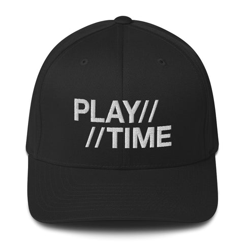 "PLAYTIME ""Vintage Logo"" Structured Twill Cap"