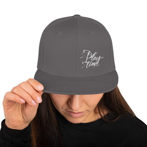 "PLAYTIME ""David Chang Logo"" Snapback Hat"