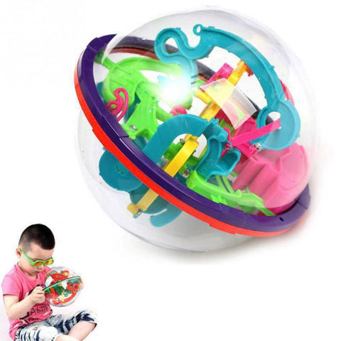 Smart Kid 3D Maze Ball