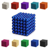 Magic Coloured Magnetic Spheres (216 Pieces)