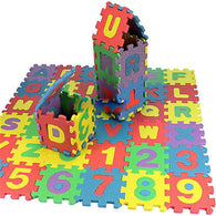 Baby & Toddlers Foam Learning Puzzle (36 Pieces)