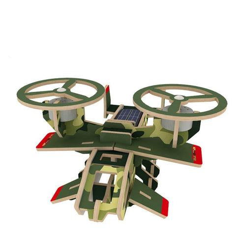 3D Solar Powered Aircraft Puzzles