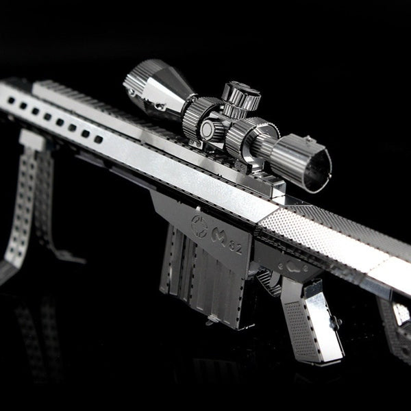 Barrett Sniper Rifle 3D Metal Puzzle