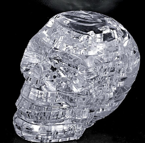 3D Crystal Skull Puzzle