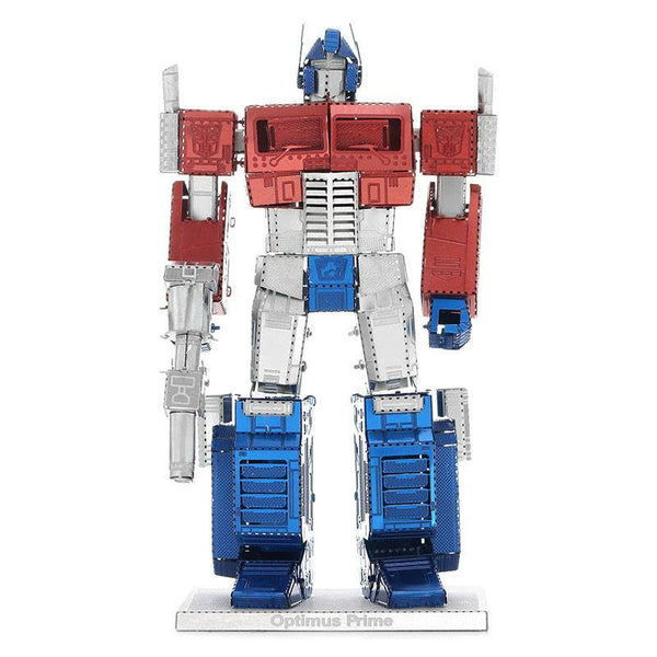 Transformers Optimus Prime 3D Metal Puzzle