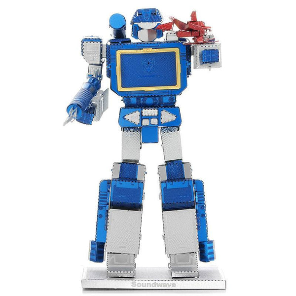 Transformers Soundwave 3D Metal Puzzle