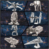 Star Wars 3D Metal Puzzle FULL SET (8 Pieces)