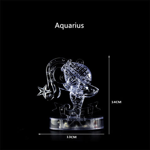 3D Crystal Zodiac Signs Puzzle