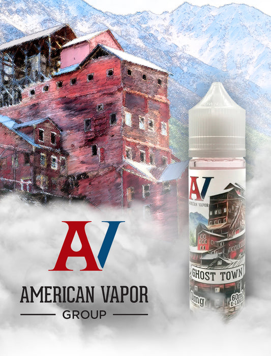 Ghost Town - Blue-razzberry, pineapple, hard candy-E-Liquid-Vape Distribution Australia