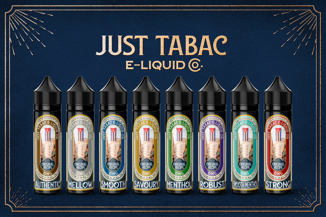 Just Tabac 120ml Bundle