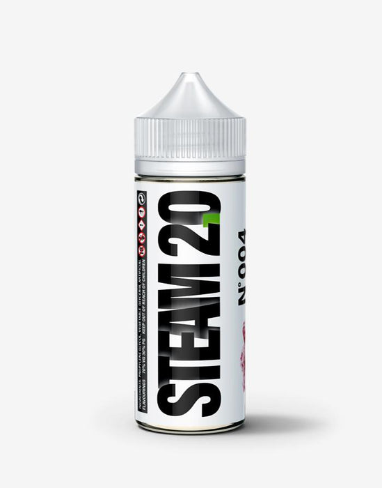 No 004 - Raspberry Candy - Steam E-Juice | The Steamery