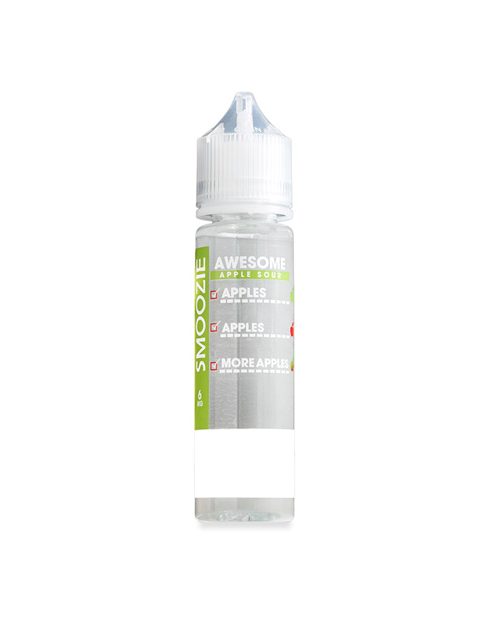 Awesome Apple Sour 60ml-E-Liquid-Vape Distribution Australia