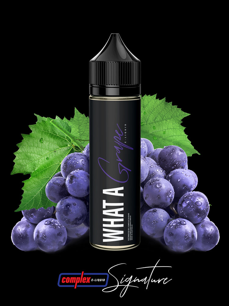 Signature - What A Grape-E-Liquid-Vape Distribution Australia