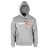 Grey Logo Pullover Hoodie - Dynamik Muscle - GEAR/APPAREL - Supplements & Apparel Store