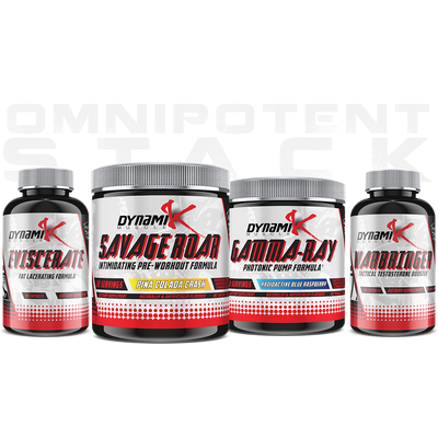 Omnipotent Stack - Dynamik Muscle - Stack - Supplements & Apparel Store