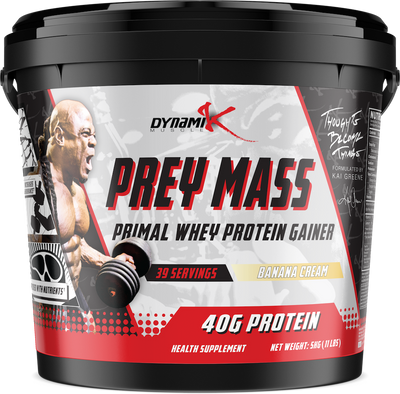 Prey Mass -  5kg - Exclusive for India - Dynamik Muscle - Supplements - Supplements & Apparel Store