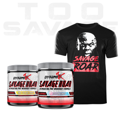Too Savage T-Stack - Dynamik Muscle - Stack - Supplements & Apparel Store