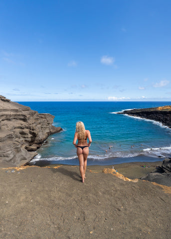 Things to do on Big Island Of Hawaii | Green Sand Beach