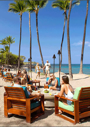 Best Beach Bar on Big Island Of Hawaii