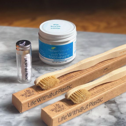 All Natural Zero Waste Toothbrushes